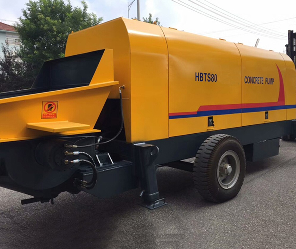 HBT Motor Concrete Trailer Pump