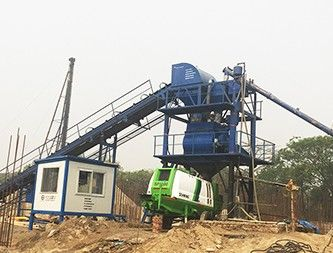 Delivery Belt type Batching Plant