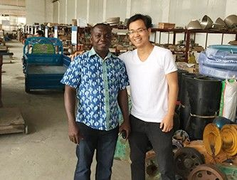 Ghana Customers visit UNIQUE GROUP