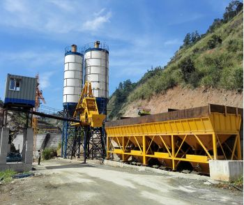 HZS75 Concrete Batching Plant