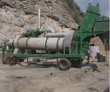 MDHB Mobile Asphalt Drum Mix Plant