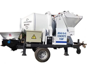 JBT Electric Concrete Mixer With Pump