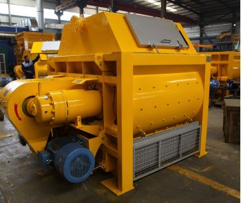 Twin Shaft Concrete Mixer (JS1000-JS4000)