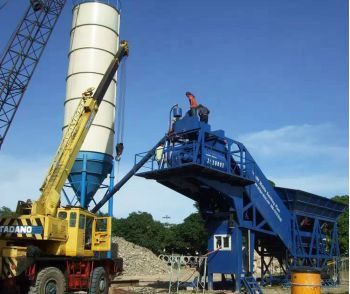 YHZS90 Mobile Concrete Batching Plant