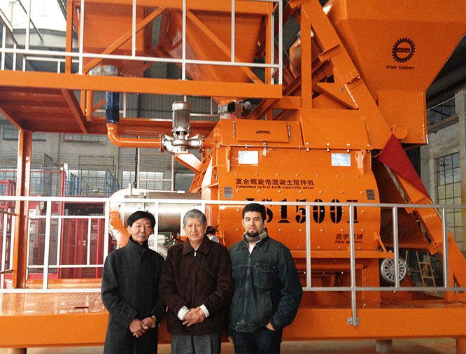 Chile Customers visit Unique Group