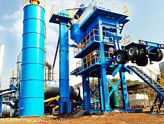 YLB1500 Asphalt Plant Installed in Bangladesh