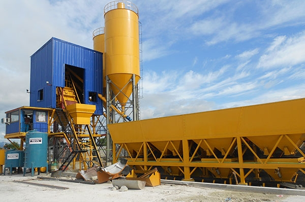 HZS75 Concrete Mixing Plant in Philippines