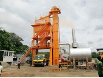 A new Asphalt mixing plant is installing in Bangladesh