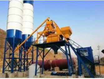 Production of small square concrete mixing station models are mainly