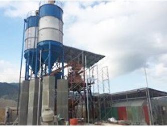 New Concrete Batching Plant install in the Philippines