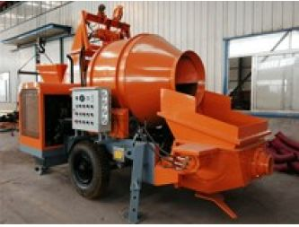 Advantages of diesel concrete mixer with pump