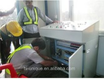 Control system of concrete batching plant