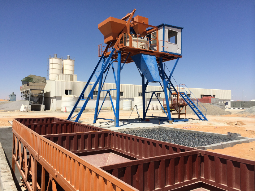 Planetary Mixer Type Concrete Batching Plant in UAE