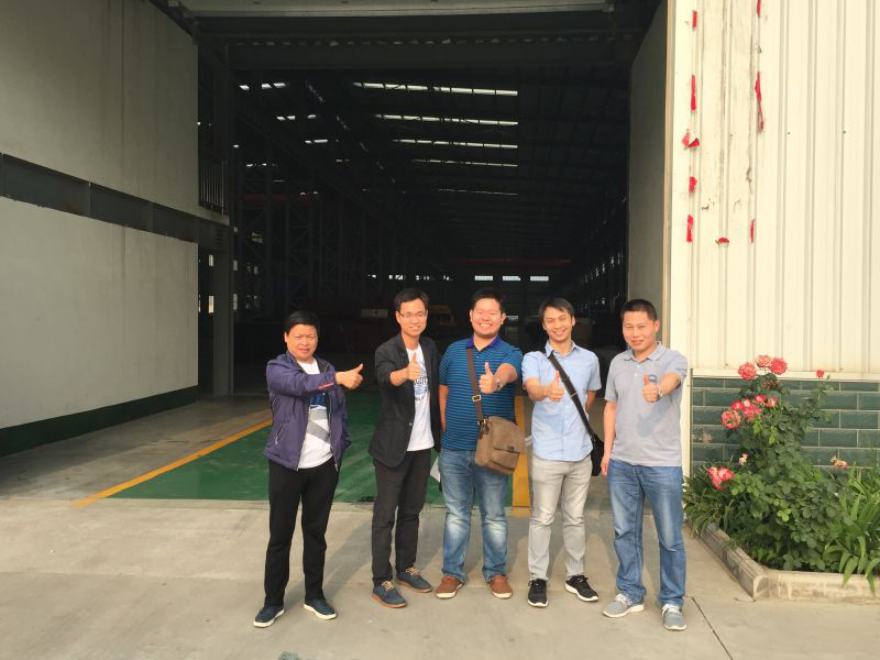 Philippines Customers visit UNIQUE GROUP at this month