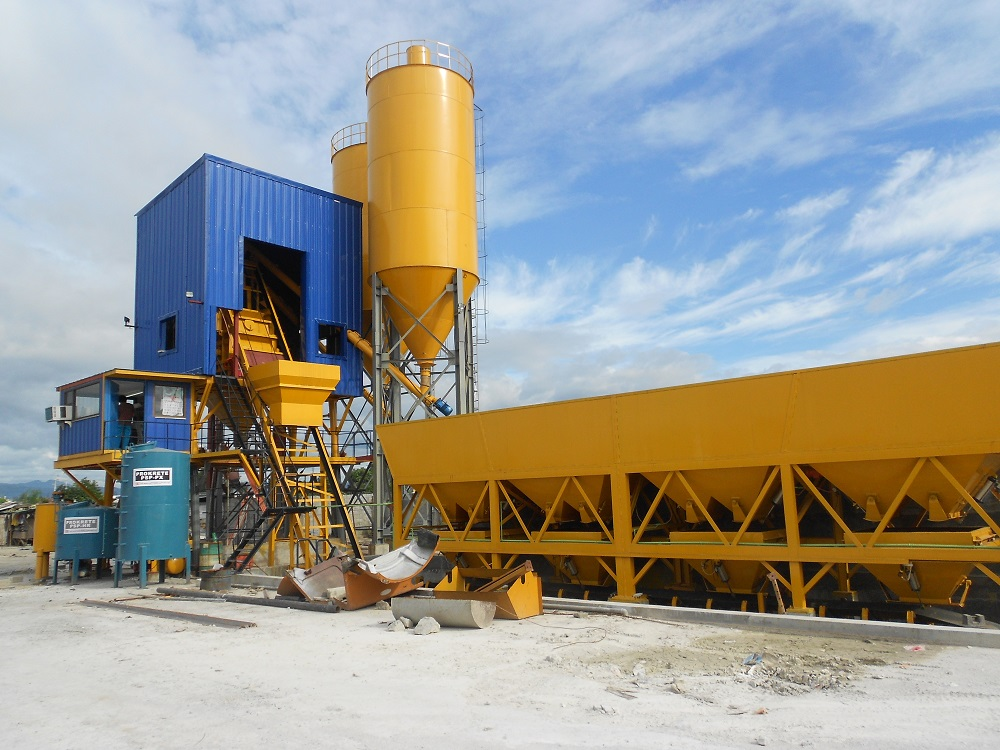 HZS75 Concrete Plant in Philippines