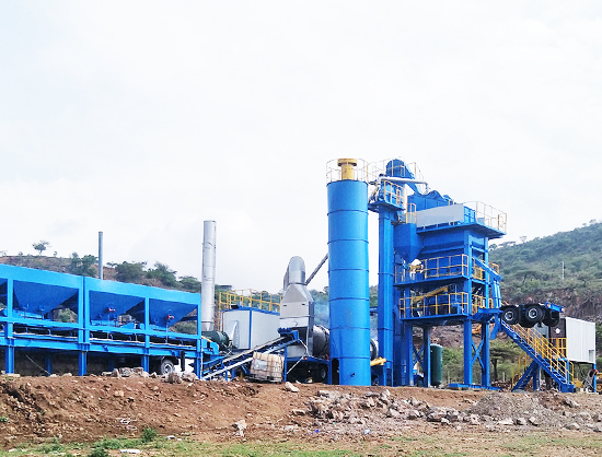 YLB1500 Asphalt Mixing Plant Successfully Installed in Bangladesh