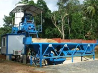 Two Sets New Concrete Mixing Plant Installed in Sri Lanka